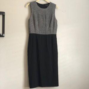Cynthia Steffe Black and white sheath dress